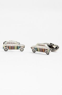 [Paul Smith Car Cuff Links] I picked these up for $75 during the designer sale. A bit of a reminder of the Summer 2012 Olympics.