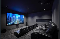 6 Acheron Street Doncaster Vic 3108 House for S Home Theater Room Design, Movie Theater Rooms, Home Cinema Room, Home Theater Decor, Home Room Design, Dream Home Design, House Design, Home Decor, Cinema Room Small