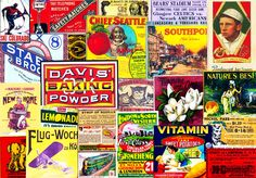 CUTOUT EMBELLISHMENTS, Clip Art Grab Bag, Scrapbook Ephemera, Vintage Advertising, Antique Reproductions, Ephemera, Collage Cutouts, Set 107 by retrowallart on Etsy