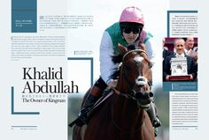 Khalid Abdullah - The Owner of Kingman Read more at Issue 6 http://issuu.com/blacktype/docs/150126_blacktype_issue6/1… #blacktypehk #horseracing