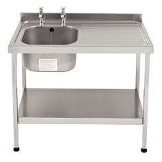 Stainless Steel Sink (Self Assembly)