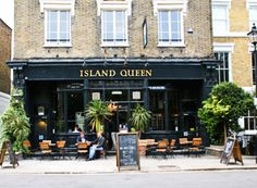 Another decent North London boozer - The Island Queen in Islington