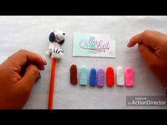 Cuerpo de Mini-iligurumis para bolígrafo - YouTube Baby Knitting Patterns, Crochet Patterns, Crochet Hair Accessories, Simply Crochet, Crochet Baby Toys, Crochet Keychain, Pencil Toppers, Crochet World, Beaded Animals