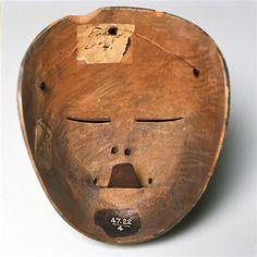 Indonesia | Java people| Mask | Wood