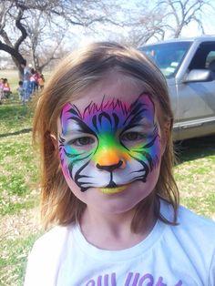 Katie Lee Girres || rainbow tiger
