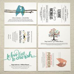 #DIY wedding invitations