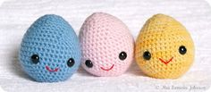 2000 Free Amigurumi Patterns: Huevitos