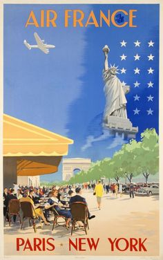 Air France, Paris-New York