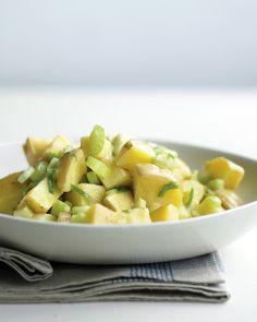 Potato Salad with Celery and Scallions