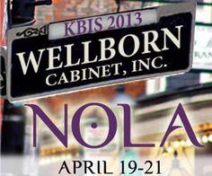 #Wellborn, #KBIS2013, #Wellbornkbis