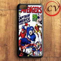 Avengers Comic iPhone 5C Case