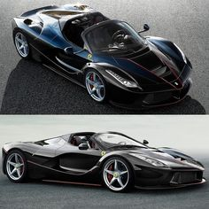 Ferrari LaFerrari Aperta 2017 Se um modelo da @Ferrari já é exclusivo por si só imagine essa versão limitada da LaFerrari? A marca divulgou nesta terça três imagens do bólido que será um dos destaques do Salão do Automóvel de Paris quando o nome e mais detalhes técnicos oficiais serão revelados.  O motor será híbrido combinando um V12 ICE com 800 cv e com um elétrico de 120 kW (163 cv) numa potência combinada de 963 cv. A série especial será reservada para um seleto número de clientes e…