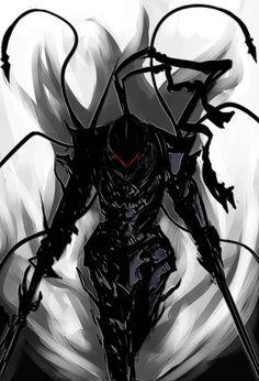 Fate/Zero :: Berserker . Berserker's design in this pic reminds me of an EVA. :)