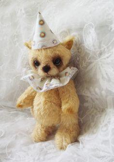 Uta - OOAK artist bear teddy bear original collectible FREE SHIPPING