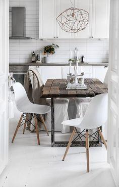 The dreamy white Swedish home of Kristin Sundberg | my scandinavian home | Bloglovin':