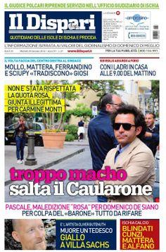 #IlDispari quotidiano - copertina del 28 gennaio 2014