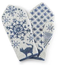 Knitting Patterns Mittens WOMEN from the book 'VOTTER' Knitting patterns from all over Norway 'by Nina Granlund Sæther. Coming January 20 … Knitted Mittens Pattern, Crochet Mittens, Knitted Gloves, Knit Crochet, Knitting Charts, Knitting Socks, Knitting Stitches, Knitting Patterns, Crochet Stitches