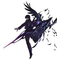 images like anime art Character Design References, Game Character, Character Concept, Concept Art, Art Manga, Anime Art, Chibi, Jackdaw, Character Design Inspiration