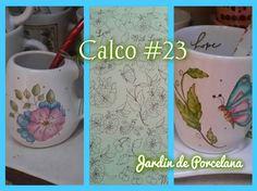 Calcos para Ceramica-Porcelana y Vidrio Pedidos jardindeporcelana... ENVIOS A TODO EL PAIS