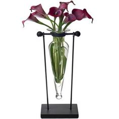 Clear Amphora Vase on Stand | Overstock.com Shopping - Great Deals on Vases