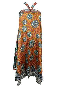 Mogul Womens Yellow Skirt Reversible Silk Sari Dress Mogu... https://www.amazon.com/dp/B071RHNM3M/ref=cm_sw_r_pi_dp_x_fJehzb5P9E1ZR