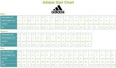 Asics Size Chart Shoe Size Chart Brands Shoe Size Chart Size