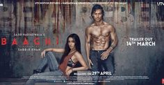 Tiger Shroff, Shraddha Kapoor Baaghi 2016 Movie Full Star Cast & Crew - MT Wiki Providing Latest Baaghi film Story, Release Date, Budget, Actress, Actors, Songs list, Poster, producer,director info.