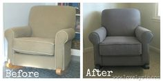 How to reupholster a chair.