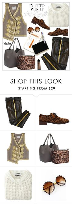 """In it to win it!"" by teoecar ❤ liked on Polyvore featuring Emilio Pucci and Acne Studios"