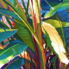 ISLAND ART Palm tree art + other tropical print Island Style wall decor