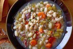 White Bean & Ham Soup Recipe