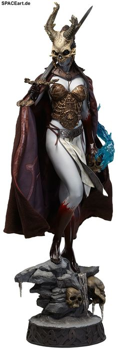 Court of the Dead: Kier - Valkyrie of the Dead, Statue / Premium Format Figur ... https://spaceart.de/produkte/cod003.php