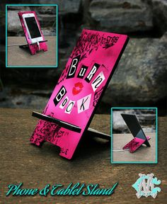 Free Shipping Mean Girls Burn Book Phone and by CustomizeMeAz