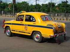 New Taxi Fares in Kolkata (Calcutta) effective from November 2012 Modern India, India Asia, Yellow Car, West Bengal, Limo, Happy Colors, India Travel, Kolkata, Indiana