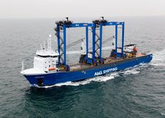 Danish shipping company Ocean7 Projects is handling the shipment of two rubber-tyred gantry cranes (RTGs) from Gydnia, Poland to Bejaia in Algeria on board Abis Shipping's vessel Arctic Dawn - heavyliftpfi.com