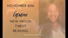 New Moon Reading November 2016 for Gemini