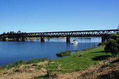 Bendy bridge in Grafton NSW