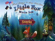 Aplicación infantil para el iPhone y el iPad: Little Fox Music Box