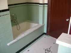 my head explodes when people gut bathrooms like this one from the 1920s.