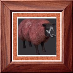 """Life Size Resin Sheep with Head Up is handcrafted resin and painted a realistic brown color. Life Like Sheep prop display measures 41""""l x 18""""w x 27""""h and weighs approx 30 lbs. Shipping is included in price! This brown sheep is very detailed and is sure to be the center of attention. Get yours now."""