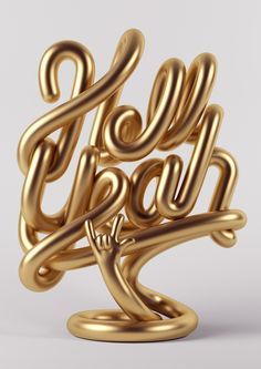 Marc Urtasun: Hell Yeah letterings