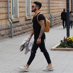 Nice style by Look Fashion, Urban Fashion, Fashion Outfits, Fashion Men, Style Board, Mode Man, Summer Outfits, Casual Outfits, Swagg