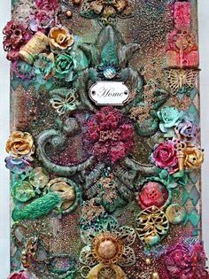 How to Create Mixed Media Canvas