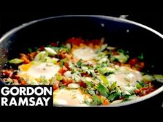 North African Poached Eggs - Gordon Ramsay - YouTube