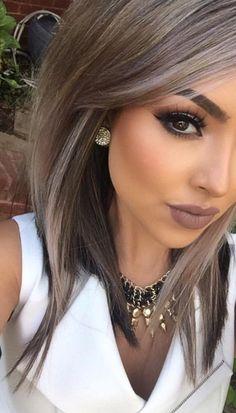 10 Most inspiring Grey Hair styles images   Canas, Color de cabello ...