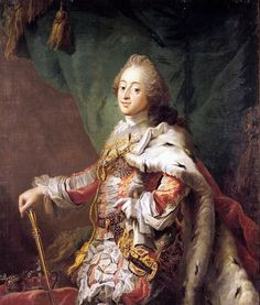 Frederik V was the King of Denmark-Norway from 1746. Frederik V was one of the weaker kings of Denmark. His education was inadequate and he was completely dependent upon his advisors. Nevertheless he was popular during his time. Court life and culture were revived after the Pietist reign of Christian VI.  Copyright: Rosenborg Castle / Rosenborg Slot