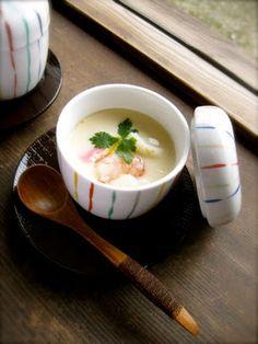 Da Washoku Kitchen: 基本の茶碗蒸し CHAWAN-MUSHI (Japanese Egg Custard)