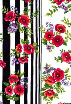 Poppy Penache - Garden Delights - Quilt Fabrics from www.eQuilter.com