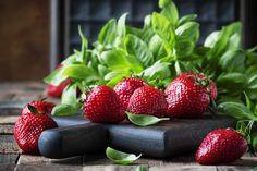 Food-Pairing: das perfekte Paar Food Pairing, Strawberry, Fruit, Desserts, Mango, Basil, Cooking Recipes, Dish, Food