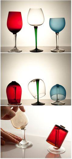 Glasses 'Mixers' Set of 3